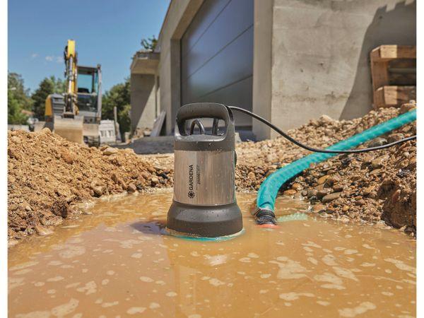 Tauchpumpe GARDENA 9046-61, Schmutzwasser, 1100 W, 25.000 l/h - Produktbild 4
