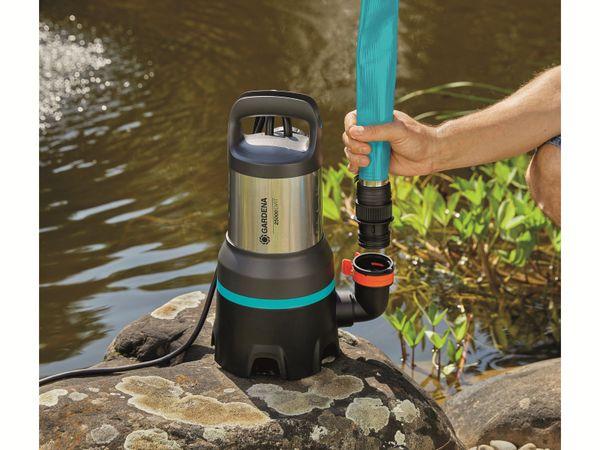Tauchpumpe GARDENA 9046-61, Schmutzwasser, 1100 W, 25.000 l/h - Produktbild 5