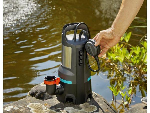 Tauchpumpe GARDENA 9046-61, Schmutzwasser, 1100 W, 25.000 l/h - Produktbild 6