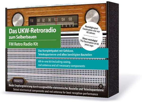 Lernbausatz FRANZIS UKW-Retroradio zum Selberbauen - Produktbild 2