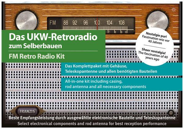 Lernbausatz FRANZIS UKW-Retroradio zum Selberbauen - Produktbild 3