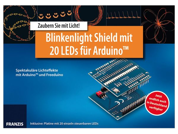 Lernpaket Arduino Shield Blinkenlight + Platine - Produktbild 2