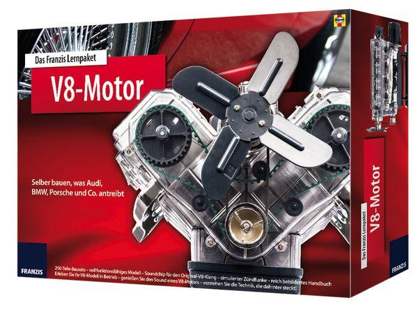 Lernpaket V8-Motor