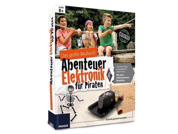 """Baubuch """"Abenteuer Elektronik für Piraten"""" - Produktbild 1"""