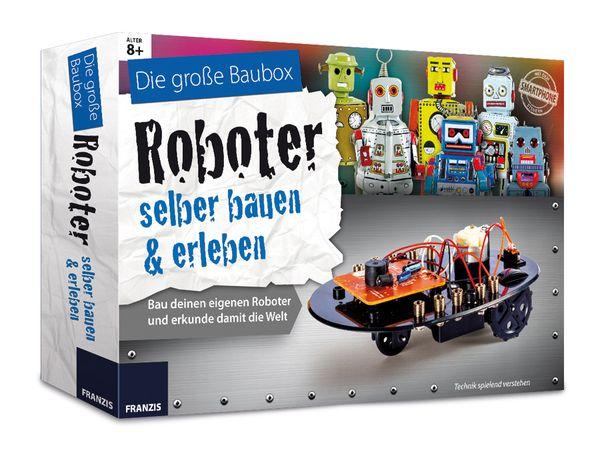 """Die große Baubox """"Roboter selber bauen & erleben"""" - Produktbild 1"""