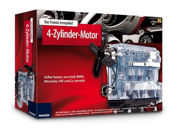 Lernpaket 4-Zylinder-Motor