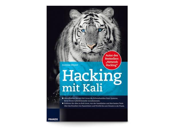 Buch Hacking mit Kali
