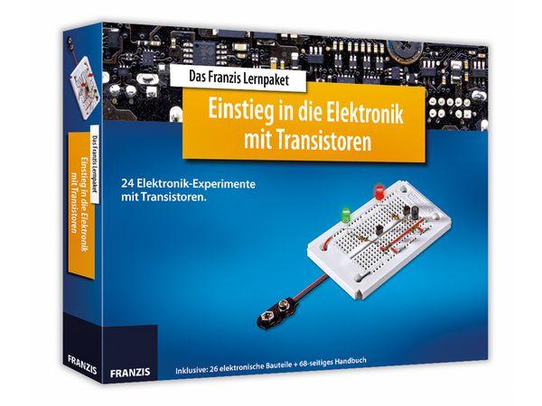Lernpaket Einstieg in die Elektronik mit Transistoren - Produktbild 1