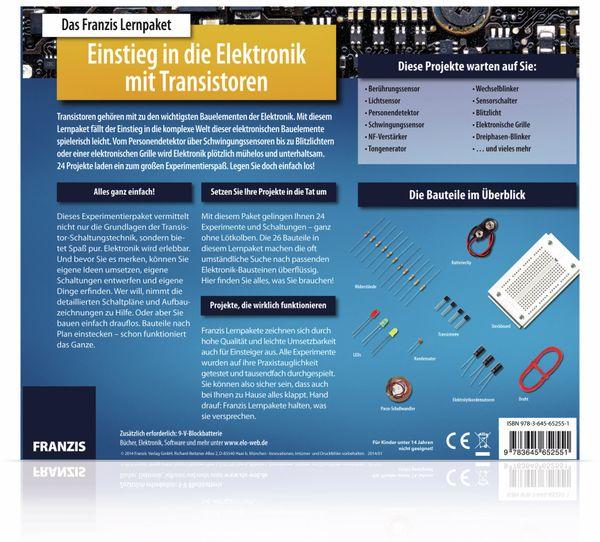 Lernpaket Einstieg in die Elektronik mit Transistoren - Produktbild 3