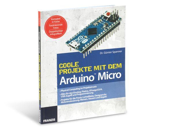 Buch Coole Projekte mit dem Arduino Micro - Produktbild 1