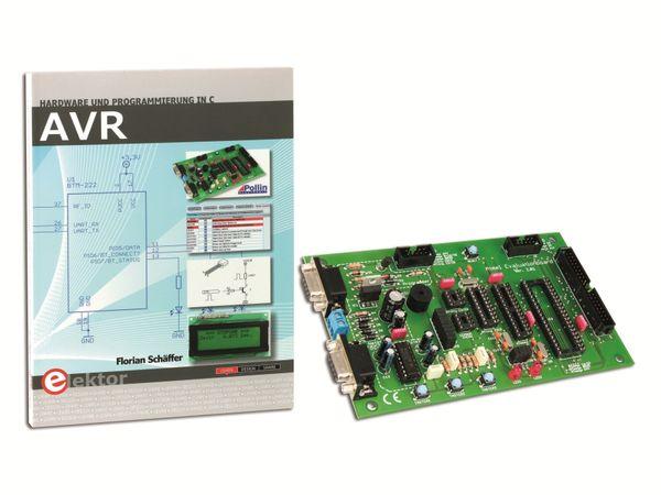 AVR - Programmierung und Hardware in C, inkl. Evaluation-Board - Produktbild 1