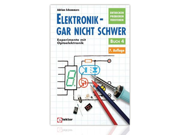 Buch Experimente mit Optoelektronik, Buch 4