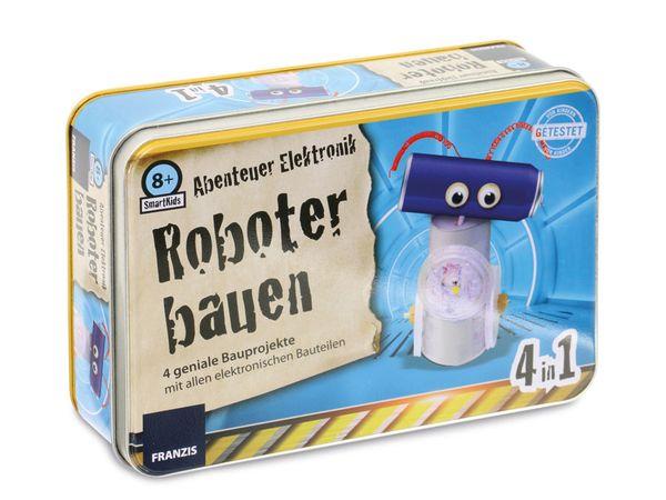 Lernpaket SmartKids Abenteuer Elektronik - Roboter bauen - Produktbild 1