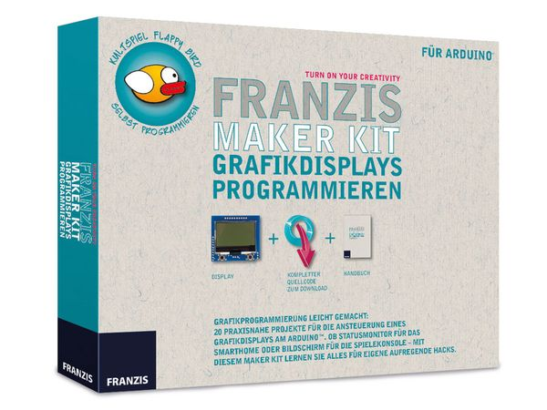 FRANZIS Lernpaket Grafikdisplays programmieren