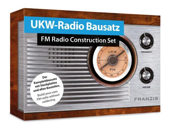 Bausatz FRANZIS UKW-Radio
