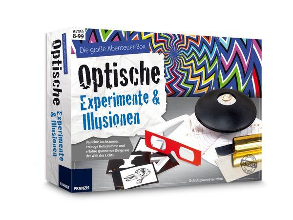 Die große Abenteuer-Box Optische Experimente & Illusionen - Produktbild 2