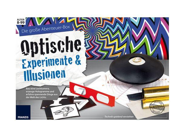 Die große Abenteuer-Box Optische Experimente & Illusionen - Produktbild 3