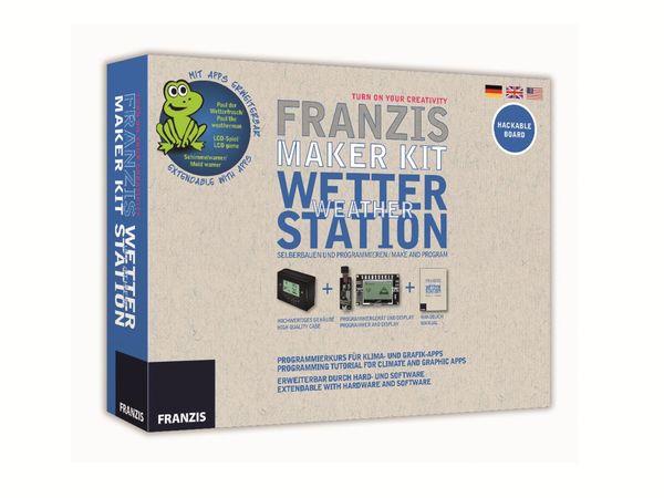 Lernpaket FRANZIS Maker Kit Wetterstation - Produktbild 1