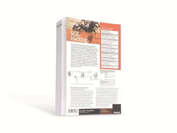Buch SQL Hacking - Produktbild 2