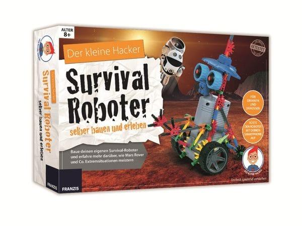 Lernpaket FRANZIS Der kleine Hacker: Survival Roboter