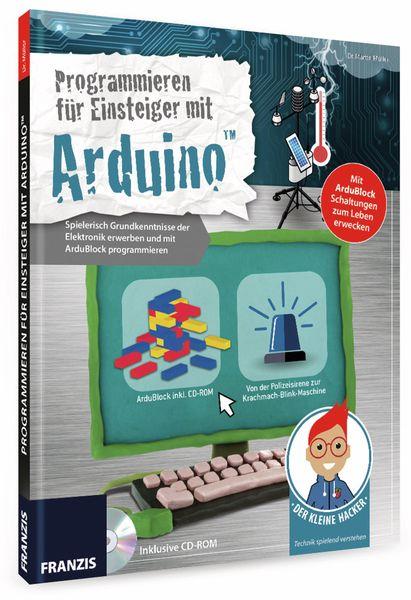 """Buch FRANZIS Der kleine Hacker """"Programmieren für Einsteiger mit Arduino - Produktbild 2"""