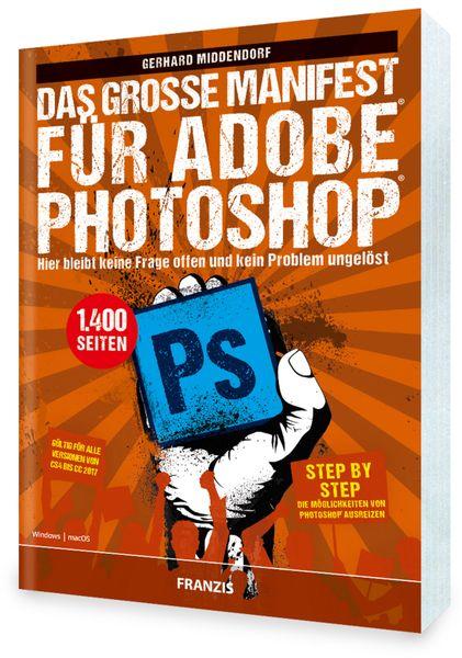 """PDF Buch FRANZIS """" Das grosse Manifest"""" für Adobe Photoshop - Produktbild 1"""