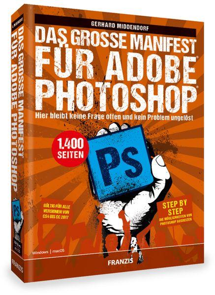 """PDF Buch FRANZIS """" Das grosse Manifest"""" für Adobe Photoshop - Produktbild 2"""