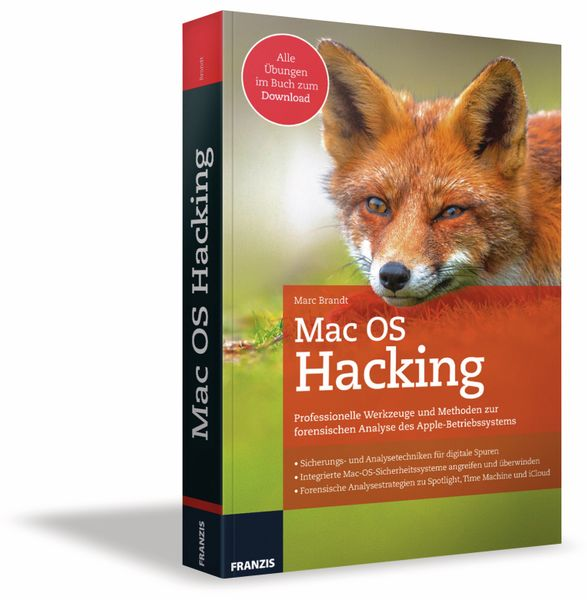 Buch FRANZIS Mac OS Hacking