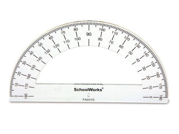 Halbkreis-Winkelmesser