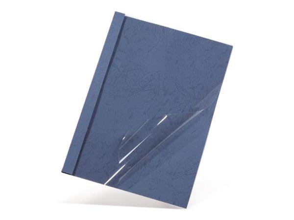 Thermobindemappen, DIN A4, 12 mm, 100 Stück, blau