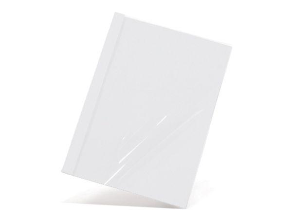 Thermobindemappen, DIN A4, 10 mm, 100 Stück, weiß