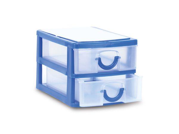 Schreibtisch-Organizer mit 2 Schubladen