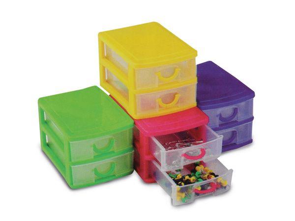 Schreibtisch-Organizer mit 2 Schubladen - Produktbild 4