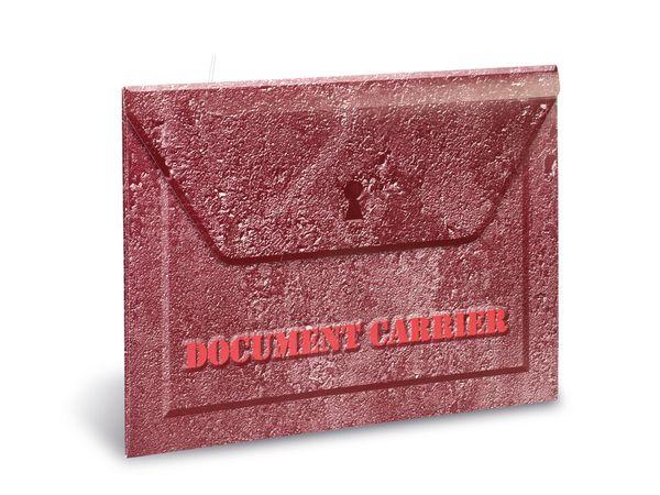 Dokumententasche CARRIER, rot