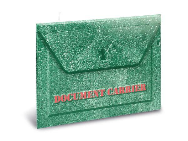 Dokumententasche CARRIER, grün