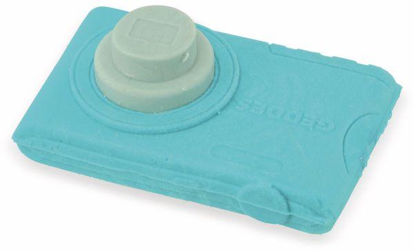 Radiergummi Kamera, blau - Produktbild 2