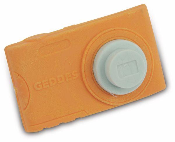 Radiergummi Kamera, orange