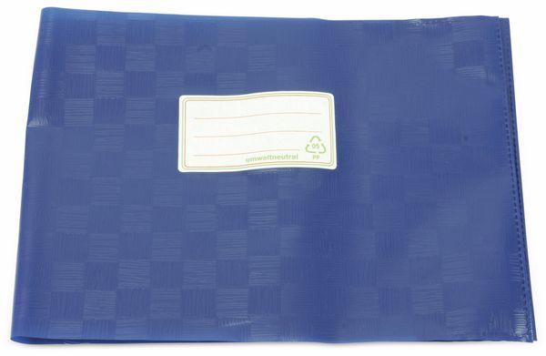 Hefthüllen, A5 quer, blau, 10 Stück