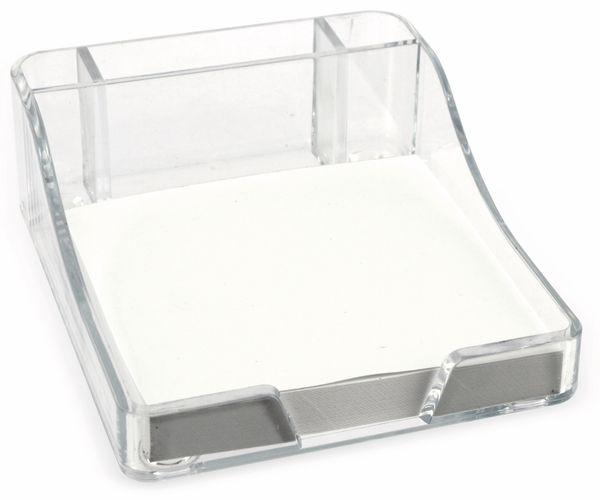 Stiftehalter TOPWRITE, mit Notizblock, 100 Blatt - Produktbild 3