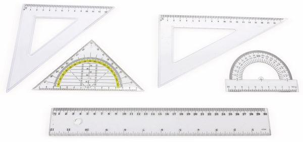 Lineal-Set, 5-teilig - Produktbild 1