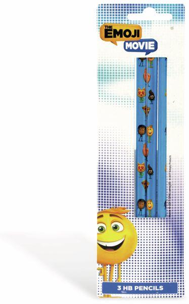 Bleistift-Set EMOJI, 3 Stück - Produktbild 2
