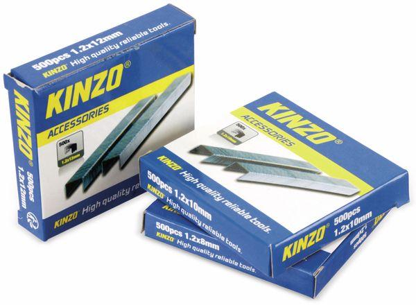 Heftklammern-Set, KINZO, 3x500St. - Produktbild 2