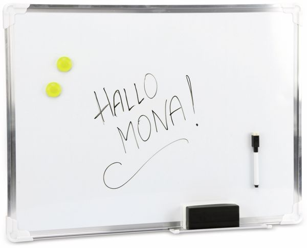 Whiteboard, TOPWRITE, 60x45 cm - Produktbild 1