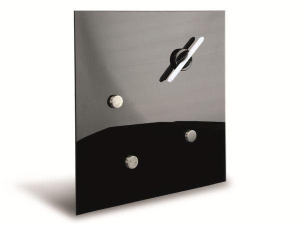 Glasmagentboard HAMA, 30x30 cm, schwarz