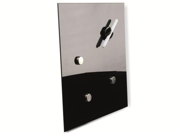 Glasmagentboard HAMA, 30x30 cm, schwarz - Produktbild 2