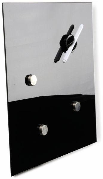 Glasmagnetboard HAMA, 30x30 cm, schwarz - Produktbild 2