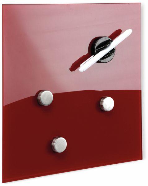 schwarz 40x40 cm Glasmagnetboard HAMA