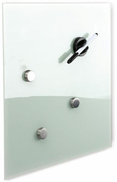 Glasmagnetboard HAMA, 40x40 cm, weiß - Produktbild 2