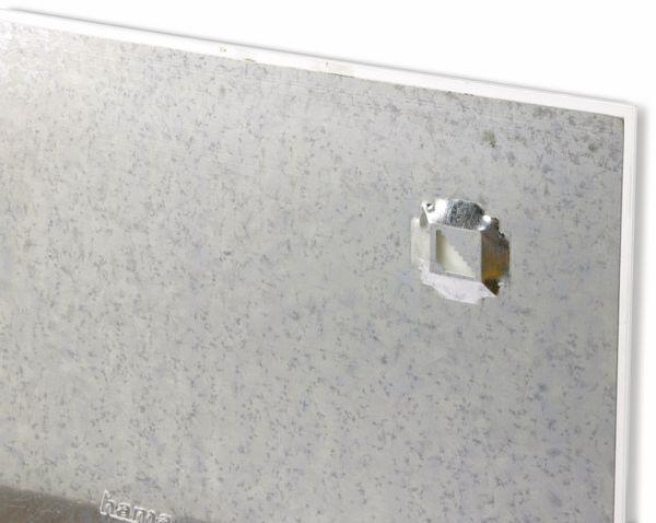 Glasmagnetboard HAMA, 40x40 cm, weiß - Produktbild 3