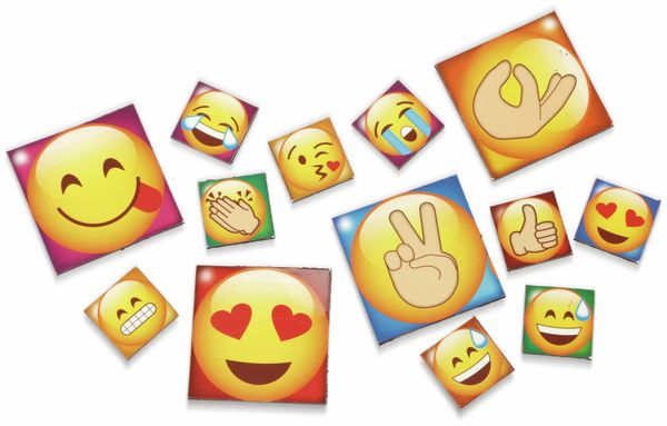 Kühlschrank-Magnete Emoji, 13-teilig